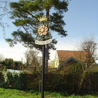 Westhorpe village sign